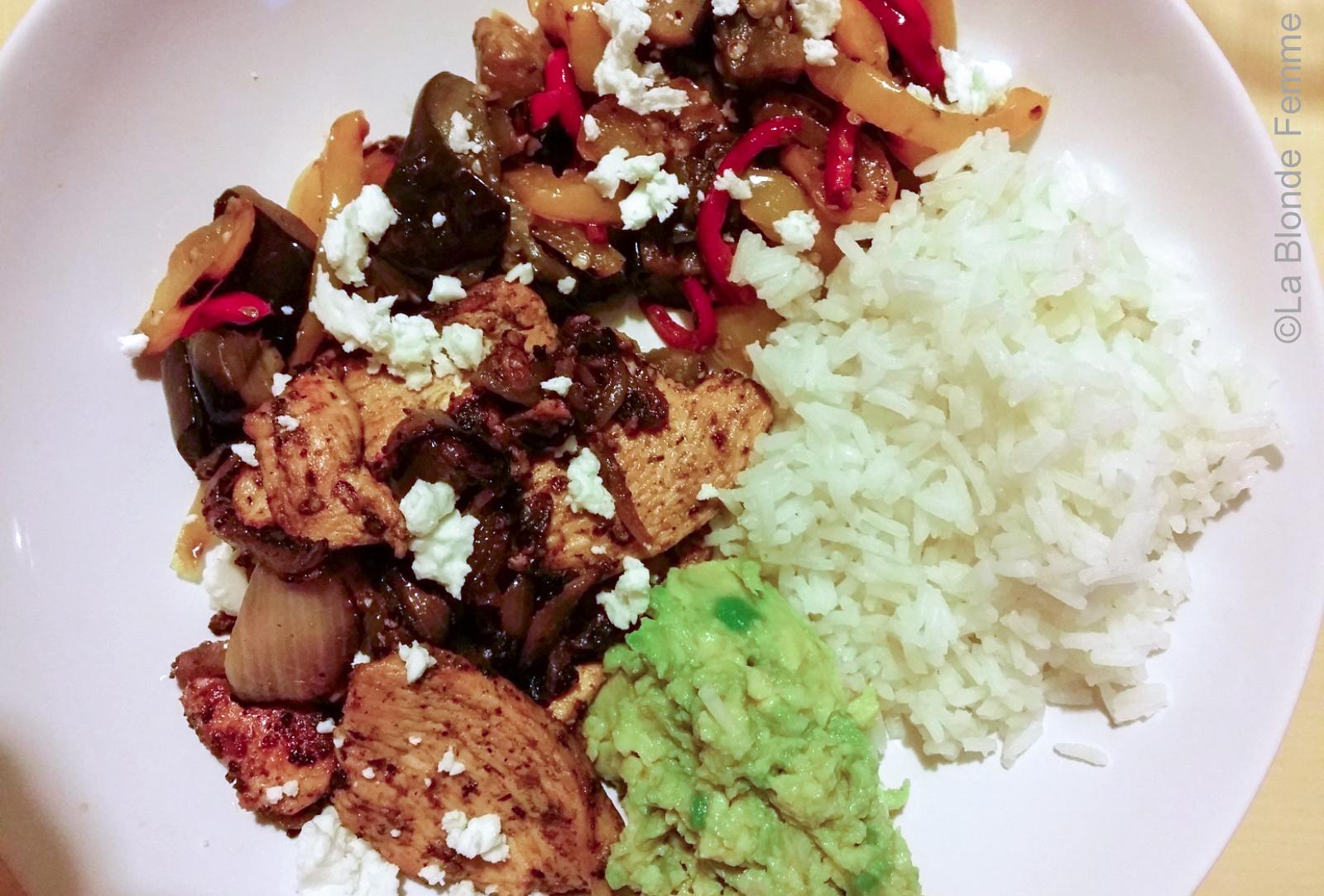 pollo & verdure